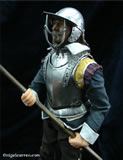 E 001 Miniature one sixth English Civil War armour complete with Ash hafted Polearm