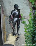 G 003 Miniature Greenwich style Armour for field and tournament complete with codpiece or Brayette