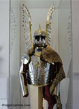 M 004 This Polish Winged Hussar armour was made for a US client Major Andrzej B. Gawlik