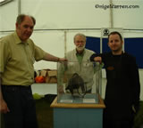 Q 002 Helping Martin Marix Evans and John Kliene at Battlefield Trust exhibition and lecture