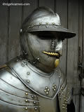 A 005 Cuirassier helmet with interchangeable parade visor